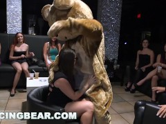 Dancingbear - Jizz And Deep-throat Those Enormous Dicks, Ladies! They're All Right Here For U
