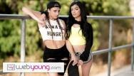 Xxx girl web site - Teen sk8r girl seduces straight babe-webyoung