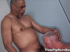 Hairy Mature Hunk Luvs Dickriding His Lover