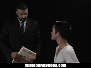 Hot Priest Barebacks A Church Boy's Tight Hole