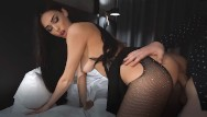 Sexy teddy lingerie Escort young girl in sexy lingerie fucked in a tight pussy - creampie