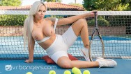 You porn chubby dildo Vr bangers blonde milf tennis player fucks you after match vr porn