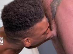Cutlersden: Drew Sebastian & Adrian Hart Multiracial Bb Monster Spear Fuck