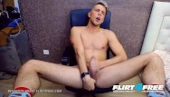 College studs gay Flirt4free - benjamin great - athletic college stud eats his own cum