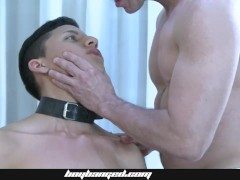 Small Boy Boinked - Smooth Teen Roped And Barebacked Boinked By Hot Dad