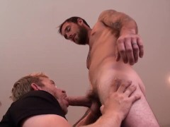 Handsome Guy W/massive Manhood – Feeds Cum To Stud + Funny Outtakes