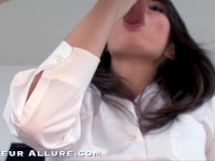 Girls In College Uniforms Gargle Pecker & Plumb Compilation