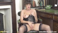 Boob gallery porn vintage Hot brunette joi flaunts big natural boobs juicy pussy in corselette nylons