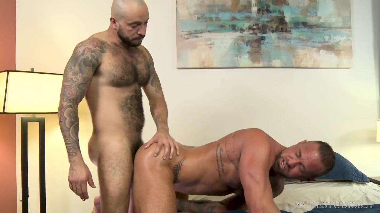 Axel Maax Porno Gay michael roman enjoys julian torres' hairy body - bearback