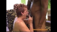 Mature interracial ass - Gangbang with a dirty granny part 1