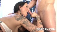 Cone shapped dildo Cone huge dildo in her ass and hot orgy