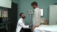 Mens gay balls Patient gets hard as dr checks balls - menover30