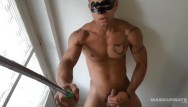 Gay male musle clips brazil Ripped brazilian jerks off on selfie stick - maskurbate