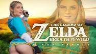 Princess zelda breasts Young blonde princess zelda needs master sword a.k.a. your dick