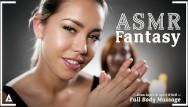 Nude full body massage videos Full body lesbian massage-asmr roleplay fantasy