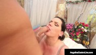 Fat ass cum suckers Cuban cock sucker angelina castro stuffs her mouth with strangers cock