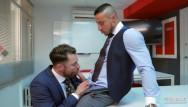 Gay men meet Klein kerr fuck his co-worker diuring a meeting