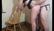 Picture of a penis in crotch Trying out the crotch rocket while hubby is in spiked chastity cage
