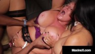 Big black and busty gallery Cambodian cougar maxine x busty milf alexis golden have 5 black cock orgy