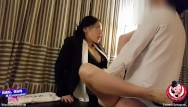 Asian managementdelhi June liu 刘玥/spicygum - chinese manager punishes her employee for being late