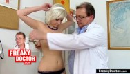 Medical sex gyno sex - Chesty euro babe lola fauve gyno exam of her pussy