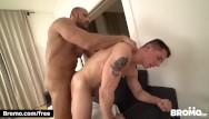 Gay movie dom Bromo - dom barebacks hunk roomate