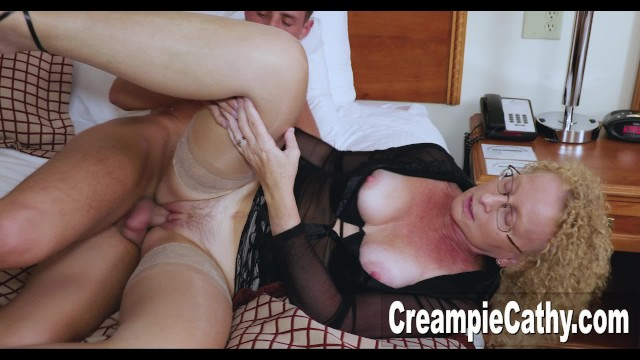 College Guy Creampies Cougar