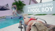 Beyonce yellow bikini booty Bangbros - curvy milf with big ass big tits ryan conner fucks pool guy