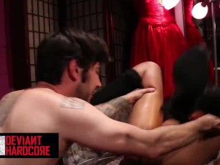 Deviant Hardcore – good little doll Skin Diamond gets dominated