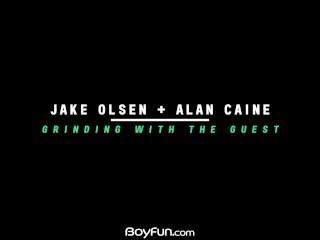 Cute Slovak Jake Olsen Visits Alan Caine For A Good Hard Fuck