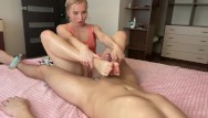 Megan summers foot fetish - Foot job and hand job.foot fetish.