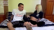 Girlswho fuck guys - Super popular tatted big cock boy lays it down on tiny petite blonde
