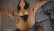 Girl in pain from anal fuck Mara martinezs ass is painfully fucked