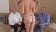 Man going down on woman xxx - Bangbros - geriatric pals go down under with young redhead zara ryan