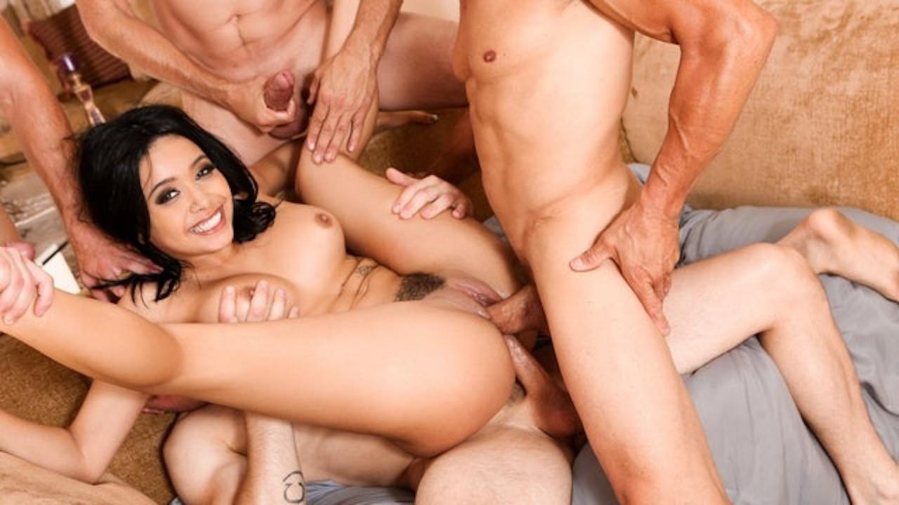 Aaliyah Hadid Porn Videos full scene - devils gangbangs aaliyah hadid rough dp crazy fuck