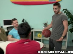 Ragingstallion - Busting A Nads At Work Enlarges Productivity