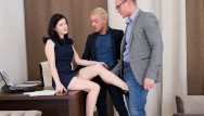 I fucked my hot coworker Anal threesome with my two coworkers - dpfanatics