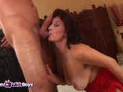 stepmom with hot mature stepmom having sex with her stepson