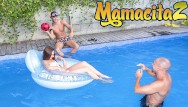 Women withe snakes in pussy Chicas loca - young russian stacy snake pool party threesome - mamacitaz