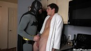 Free gay talk line Batman gets villain to talk with blowjob and tickling