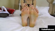 Lingerie conversion Sweet petite bailey paige takes off crazy converse foot fucks a hard cock
