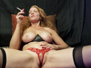 Truly Smoking Masturbation