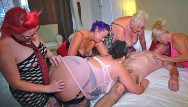 Squirts women matures Group of older women and a lucky guy