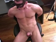 Maskurbate - Masked Jock Can Cum With No Hands