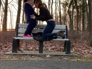 Public Park Fuck During Covid