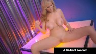 Blonde teens strip Hot stripper mom busty milf julia ann finger fucks after stripping