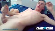 Cute gay english twink scallies Flirt4free - alpha david - cute college twink jerks off in his dorm room