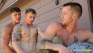 The gay barbarian - Nextdoorstudios - quentin gainz fuck facial compilation