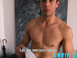 Hung Latino Fucks His Fan Boy Bareback