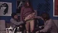 Vintage german cuttery - Bushy pregnant milf gets into hardcore threesome